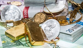 Gold, Silver Advance on Week; US Silver Coins Higher