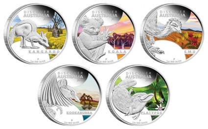 2013 Discover Australia Silver Proof Coins Debut