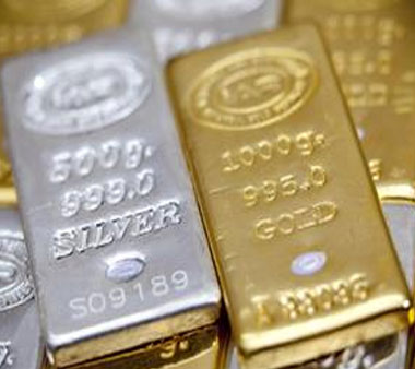 Gold, silver prices ease on fall in demand