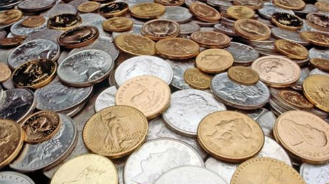 Gold Coins and Silver Coins Found Buried Under House