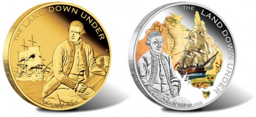 2013 Captain James Cook Coins Third in Land Down Under Series