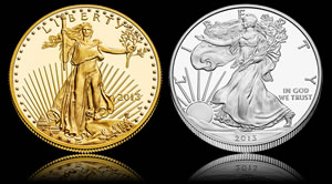US Mint Sales: Numismatic Silver and Gold Coins Slow