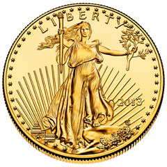 Gold and Silver Eagle Bullion Sales Up Strongly in July