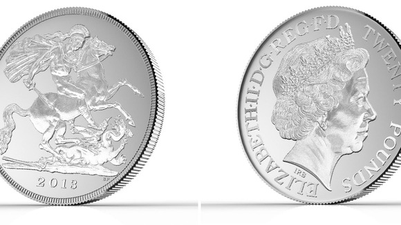First ever £20 coin unveiled by the Royal Mint