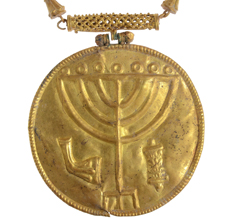 Ancient gold treasure found at foot of Temple Mount