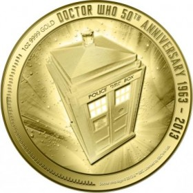 'Doctor Who' Celebrates 50th Anniversary With Limited Edition Gold Coin