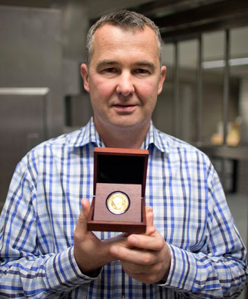 NZ Mint produces Doctor Who gold coin