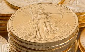 Gold, Silver Fall; US Mint Gold Bullion Sales Bounce