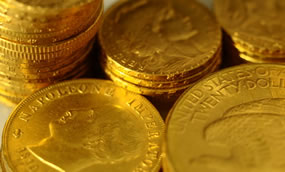Gold Punches Above $1300; Silver Jumps 2.7%; US Gold Coins Up