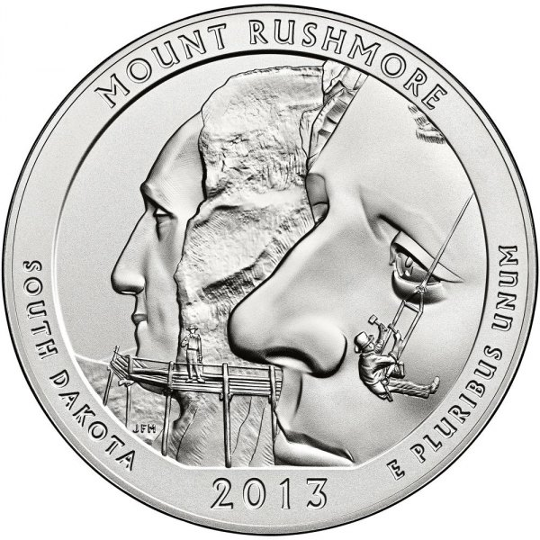 America the Beautiful Five Ounce Silver Uncirculated Coin™ Honoring South …