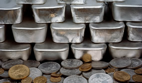 Gold Dips, Silver Gains; US Mint Bullion Coins Rally in October