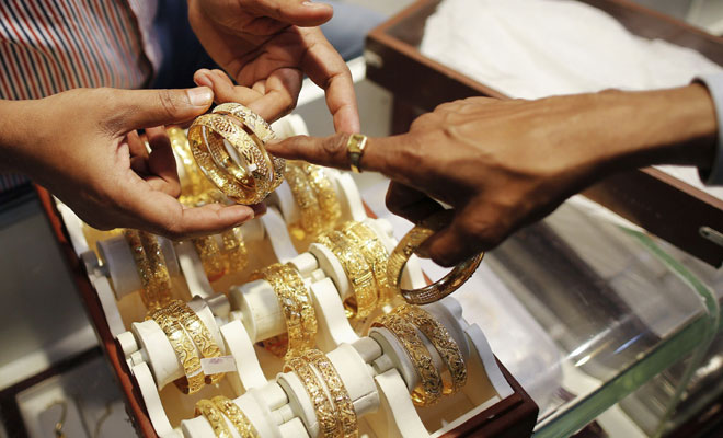 Gold price falls in Delhi by Rs 150 to Rs 31250
