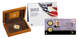 US Mint Sales: Ida McKinley Gold Coins, Annual $1 Set Debut