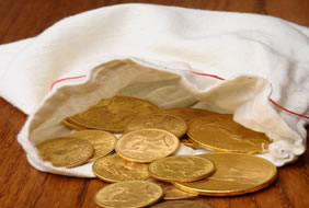 Gold, Silver Lower; US Mint Gold Coins Rise Again