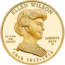 US Mint Sales Report: Ellen Wilson Gold Coins Debut, Sell Outs Continue