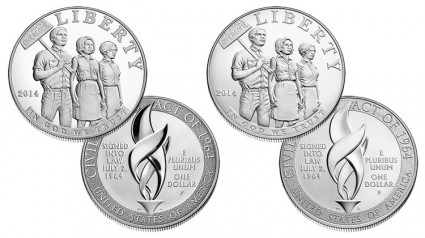 2014-P $1 Civil Rights Act of 1964 Silver Coins