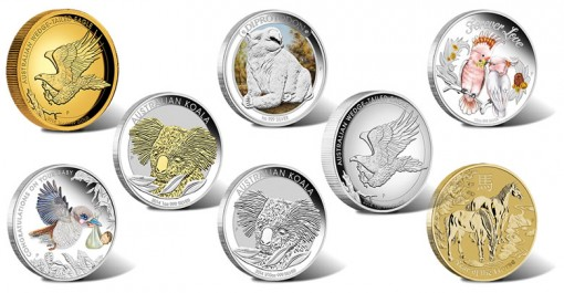 2014 Australian Silver and Gold Coin Releases for January