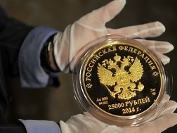Japan's Taisei Coins Corp. buys Sochi Olympic gold