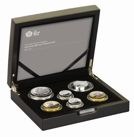 Royal Mint Launches 2014 Gold and Silver Proof Coin Sets