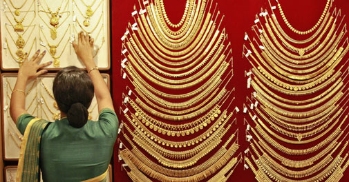 Gold, silver prices fall on profit-selling