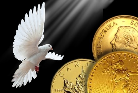 Gold Soars Past $1300 an Ounce; Silver Follows Suit