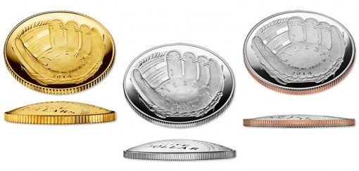 2014 National Baseball Hall of Fame Coins at Introductory Prices
