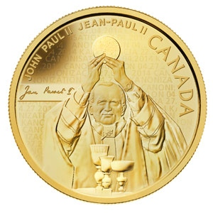Mint to issue gold, silver coins to honour Pope John Paul II