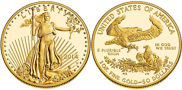 2014 American Gold Eagle Proof Coins Available