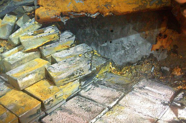 Royal Mint takes delivery of 48 tonnes of silver salvaged from site of WWII …