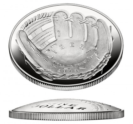 Baseball Hall of Fame Silver Coins at 91.6% of Maximum Sales