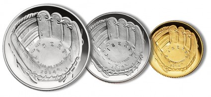 2014 Silver Coins for Baseball Hall of Fame Sold Out