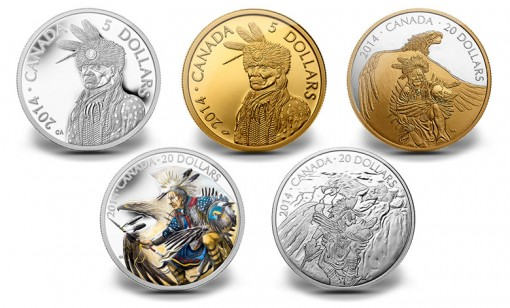 Legend of Nanaboozhoo Portrayed on Canadian Coins