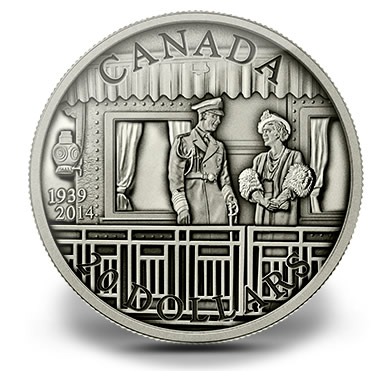 2014 Silver Coins Celebrate Canada's First Royal Visit