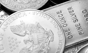 Gold Dips, Silver Edges Up; Silver Eagle Sales Top 20M