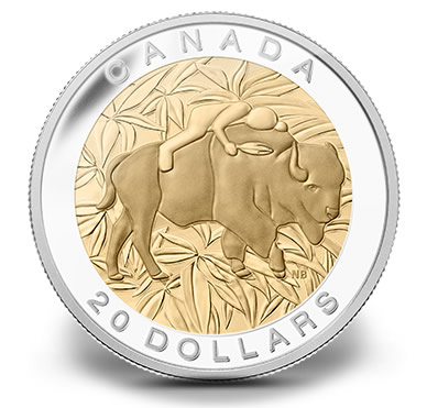 Sacred Teaching of Respect Depicted on Canadian Silver Coin