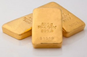 Gold Drops for 6th Session, Silver Rises; US Mint Coins Gain