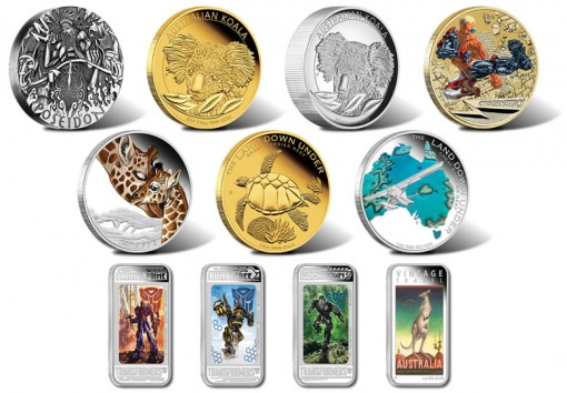 2014 Australian Silver and Gold Coin Releases for June