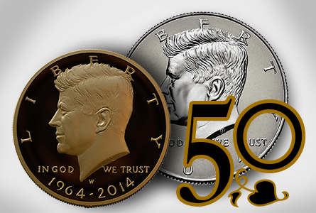 The Coin Analyst: Gold Kennedy Half Dollar to be Sold at ANA Show August 5-8