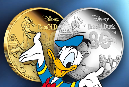 New Zealand Mint Releases Donald Duck Collector Coins