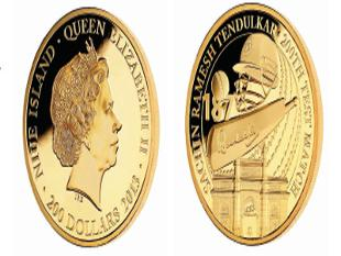East India Company rolls out special edition gold coins to honour Sachin …