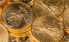 Gold, Silver Gain for Fourth Week; US Mint Bullion Coins Slower
