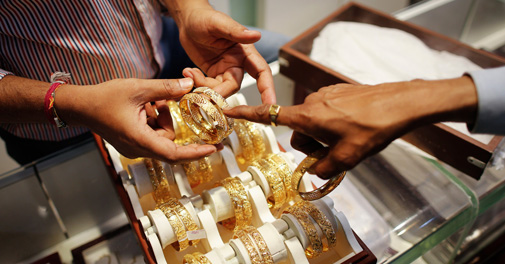 Gold, silver prices rebound on global cues