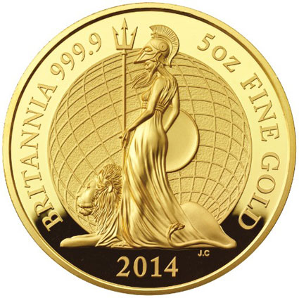 2014 Britannia Gold and Silver Proof Coins Feature New Design and …