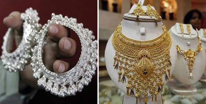 Gold silver rise on fresh buying global cues