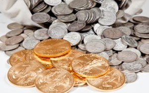 Gold, Silver Rise Slightly; US Mint Gold and Silver Coins Climb