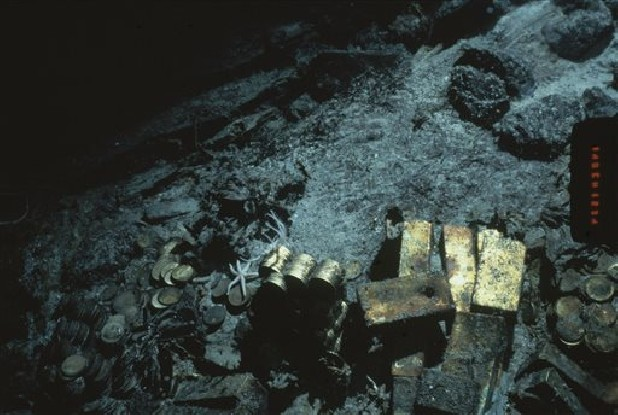 South Carolina shipwreck's gold inventory released