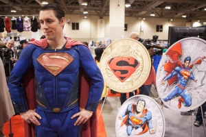 Mint unveils four new Superman coins at Fan Expo 2014