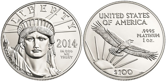 2014 American Platinum Eagle Bullion Coin Sales To Conclude October 1
