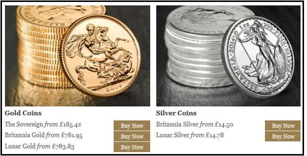 Online gold bullion trading launched by The Royal Mint