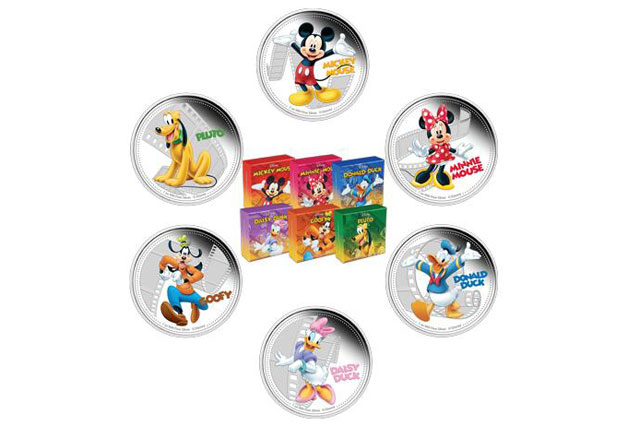 Coins bearing Disney characters become legal tender